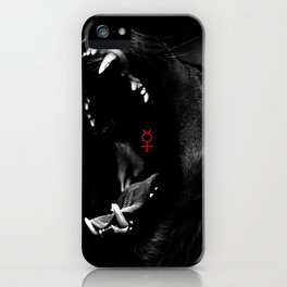 Roaring Animal Mouth iPhone Case