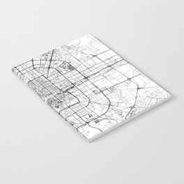 Beijing White Map Notebook