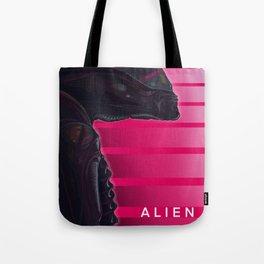 Neon ALIEN Tote Bag