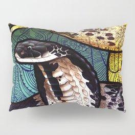 Indo-Chinese Spitting Cobra Pillow Sham