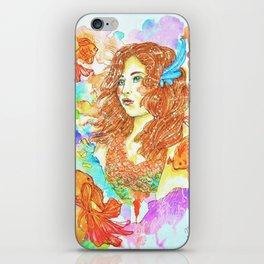 Mon Amie Le Poisson iPhone Skin