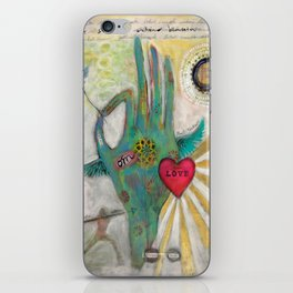 Miracle Inside iPhone Skin