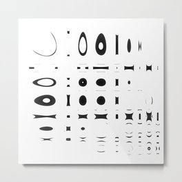 Modern symbols Metal Print