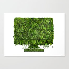 LeafMac Canvas Print