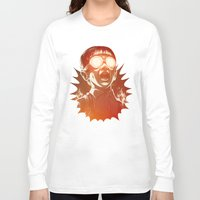 kids Long Sleeve T-shirts featuring FIREEE! by Dr. Lukas Brezak