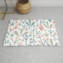 Mixed  and colore summer Rug