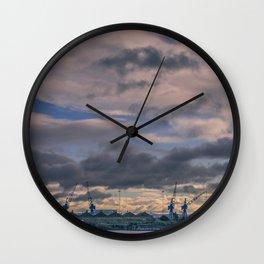 Water birds Wall Clock