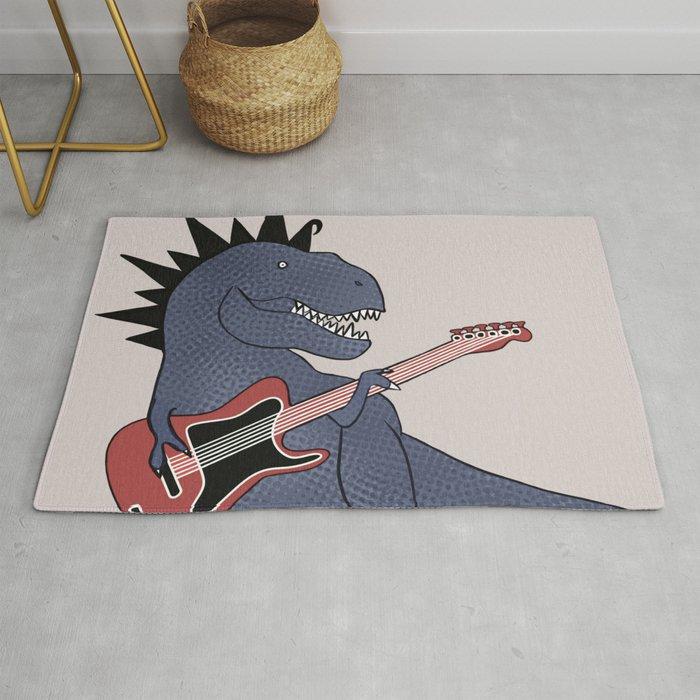 He-Rex Electric Guitar Rug