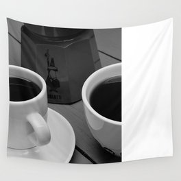 Coffe for two Wall Tapestry