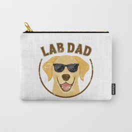 Lab Dad Labrador Daddy Retriever Fathers Day Dog Owner Lover Carry-All Pouch
