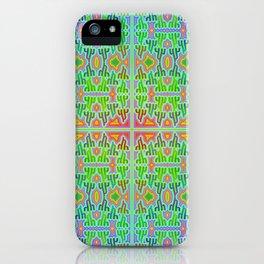 h - pattern 2 iPhone Case