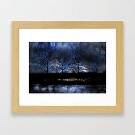River of Darkness Framed Art Print