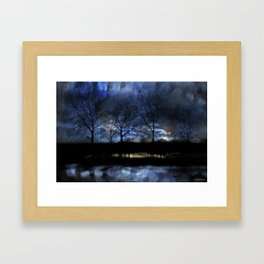 River of Darkness Framed Art Print
