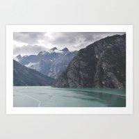 alaska Art Prints featuring Alaska by Tasha Marie