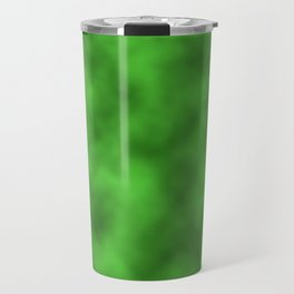 Vivid Green Foil Smooth Metal Texture Festive / Christmas Travel Mug
