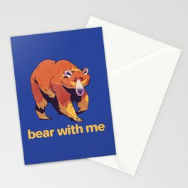 Bear - Bear With Me Stationery Cards