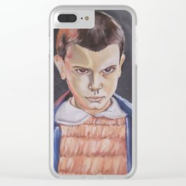Strange thing Clear iPhone Case