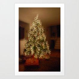 "Christmas Tree - ""S"" Art Print"