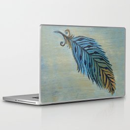 Tri-Color Feather Laptop & iPad Skin