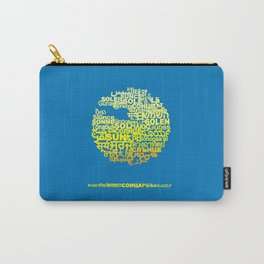Sun in Different Languages Carry-All Pouch