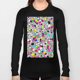 Circles and Other Shapes and colors Long Sleeve T-shirt