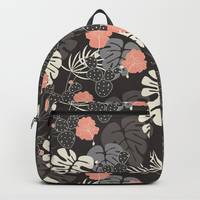 Tropical pattern 056 Backpack