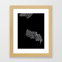 That Dude Can Brawl Framed Art Print