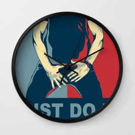 Shia Labeouf - Just do it Wall Clock