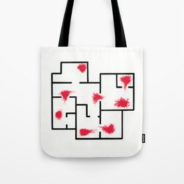 HOTLINE MIAMI - blood and walls Tote Bag