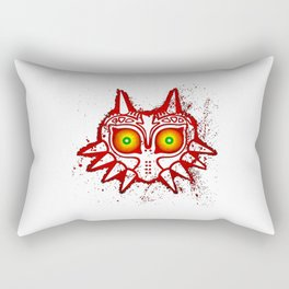 zelda majora mask Rectangular Pillow