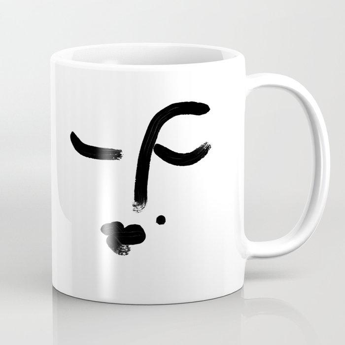 sleeping face Coffee Mug