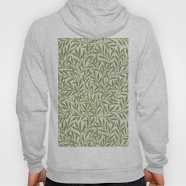 Willow pattern by William Morris. Original from The Smithsonian Institutions. British textile art. Hoody