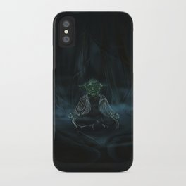 Meditation On Dagobah iPhone Case