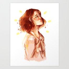 Lily Evans Art Print