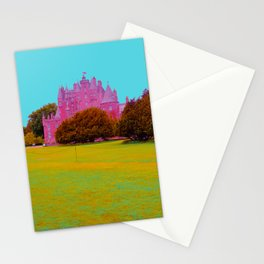 glamis castle in technicolor Stationery Cards