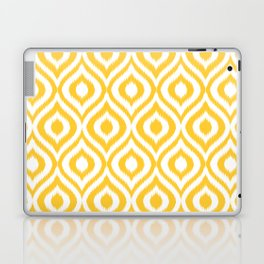 Yellow Ikat Ogee  Laptop & iPad Skin
