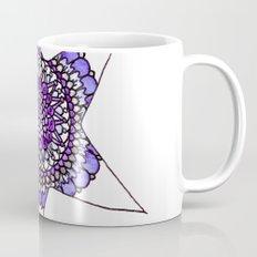 Blue/Purple Superstar Mandala Star Mug