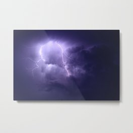Lightning Imbalance  Metal Print