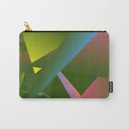 Dancing in the Garden Abstract 3 Carry-All Pouch
