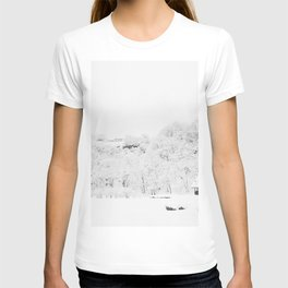 Winter Forest (Black and White) T-shirt