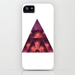 Space Trigon iPhone Case