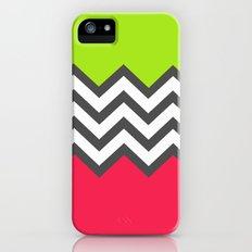 Color Blocked Chevron 5 Slim Case iPhone (5, 5s)