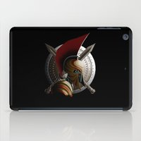 warrior iPad Cases featuring Warrior by Det Tidkun