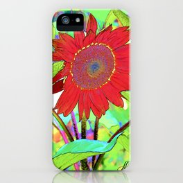 Sunflower Brillance iPhone Case