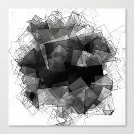 Crystal Shades Canvas Print