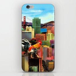San Francisco City Chicken iPhone Skin