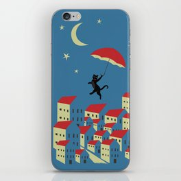 Upton The Cat And His Evening Adventures iPhone Skin