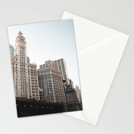 Looking up at Michigan Avenue | Chicago Stationery Cards