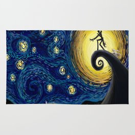 Jack starry night Rug