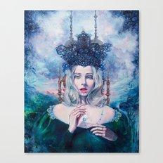 Self-Crowned Canvas Print